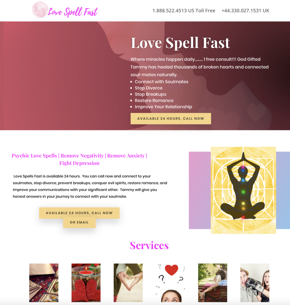 Tammy Love Spells Fast Review
